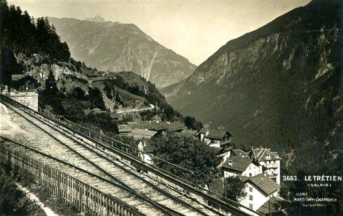 La gare du Trétien