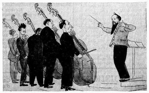 Ernest Ansermet, dessin de Petrovic