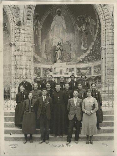 Lourdes, 1933