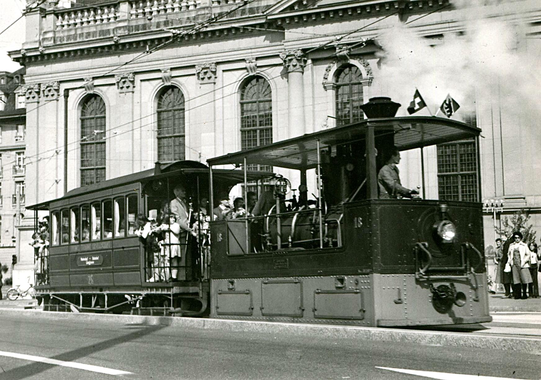 le d u00e9but des tramways neuch u00e2telois