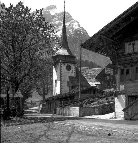 Eglise de Gsteig et Hôtel Zum Bären