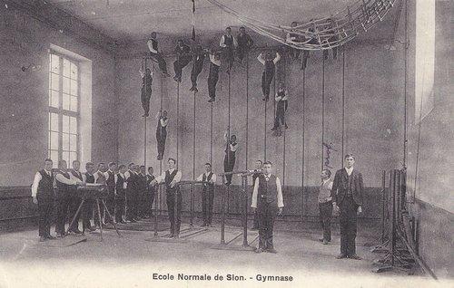 Ecole normale de Sion au début du XXème