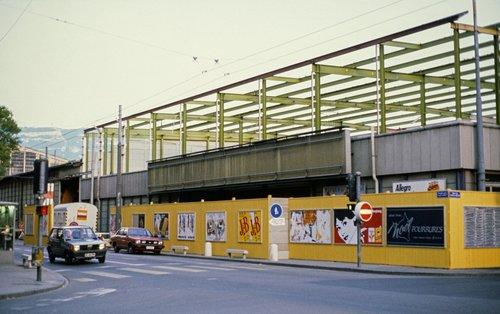 Genève, démolition du palais des Expositions