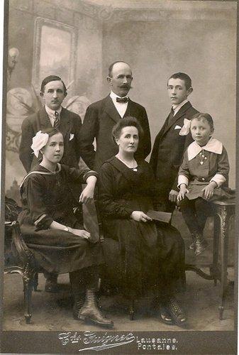 Mes grands-parents et leurs enfants à Bussigny