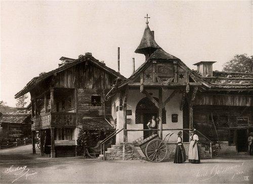 Le village suisse 1896