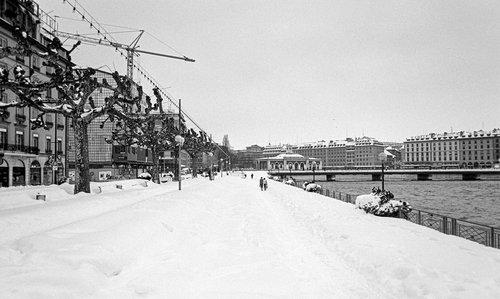 Genève, au lendemain de la neige du siècle