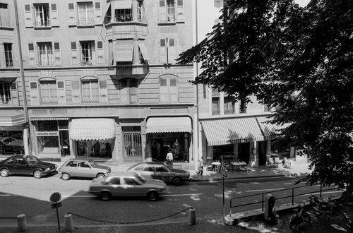 Genève, la Rue de la Madeleine en 1982