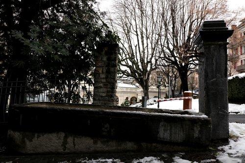 Fontaine à la rue cygne à Montreux (autre vue)
