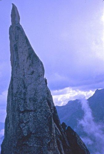 La Fiamma, 2446 mètres, Bergell