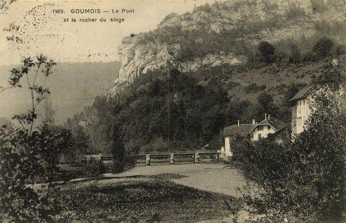 Goumois - Le Pont et le rocher du singe