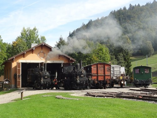 Locomotives à la Vallée de Joux