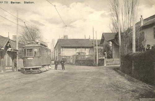 Station terminus de Bernex