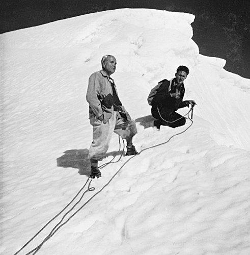 Tête Blanche, 3429 mètres d'altitude