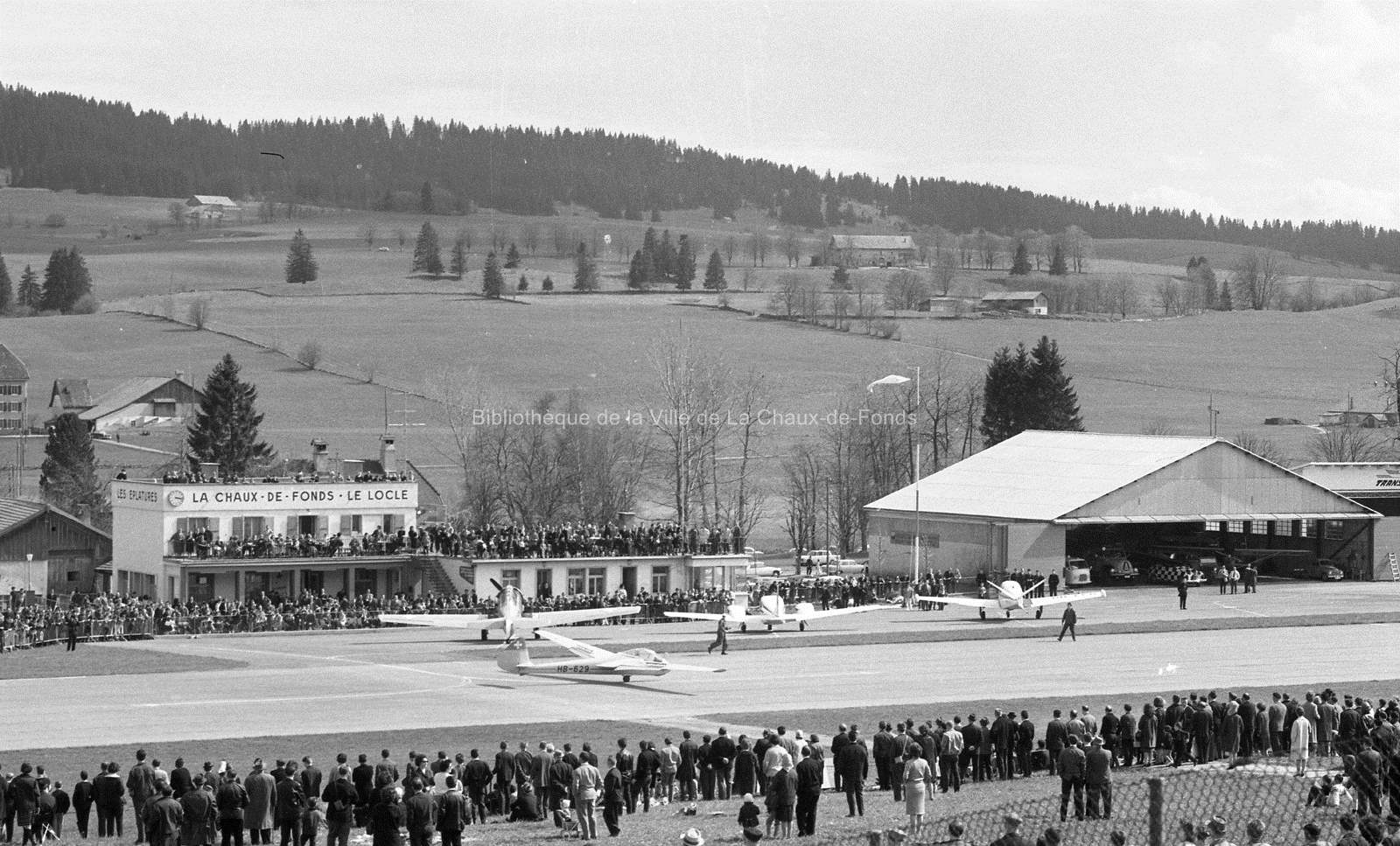 Meeting d'aviation aux Éplatures