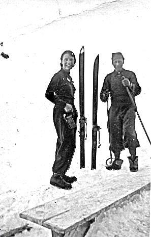 Ski alpinisme en 1935