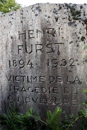 Tombe d'Henri Fürst