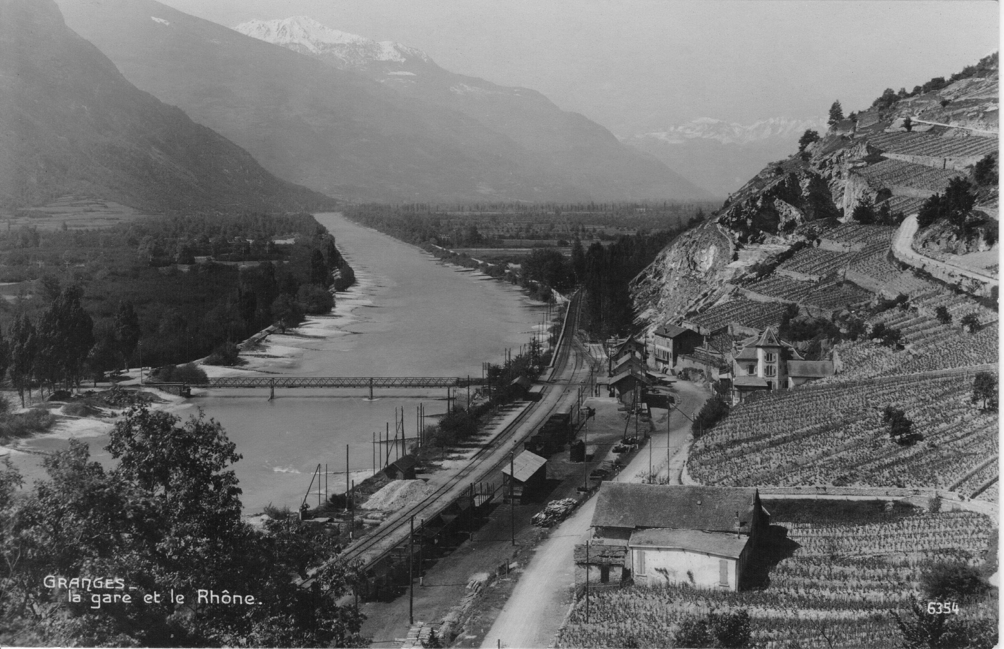 Sous les ponts de Granges coule le Rhône… mais à quel prix !