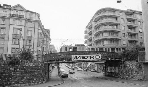 Lausanne, l' Avenue Edouard Dapples