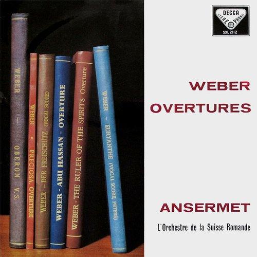 Carl Maria von WEBER, Ouverture de «Preciosa», Orchestre de la Suisse Romande, Ernest ANSERMET, octobre-novembre 1958, Victoria-Hall, Genève, Decca STS 15056