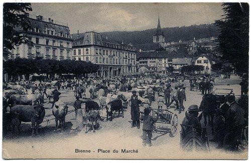 Bienne : Place du Marché