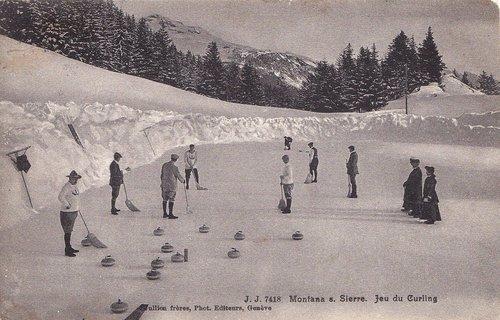 Jeu du curling à Montana