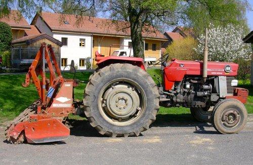 Tracteur Massey-Fergusson