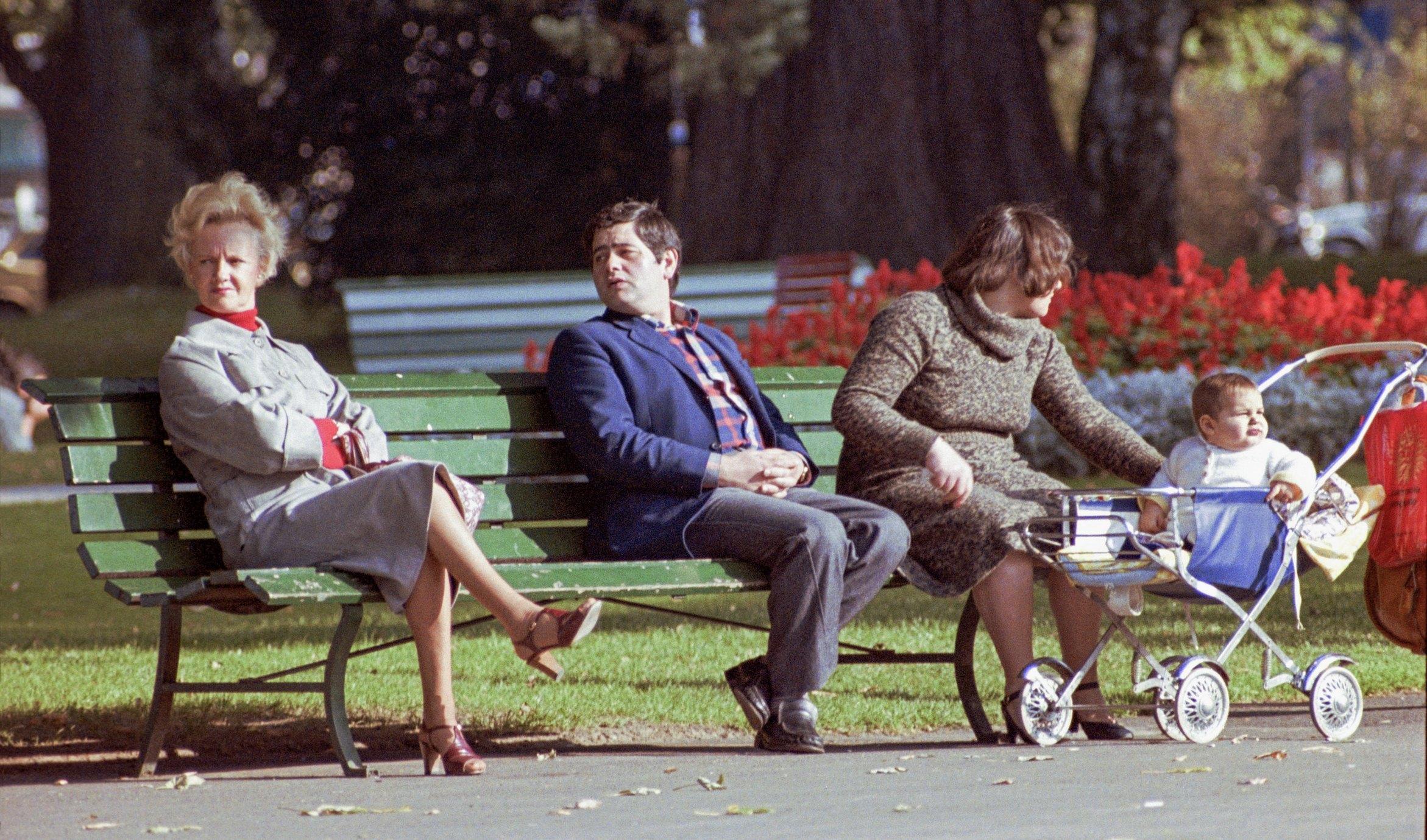 Genève, au Jardin Anglais