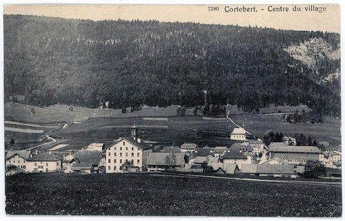 Cortébert : centre du village