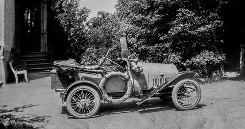 Bébé Peugeot à Bremblens en 1919