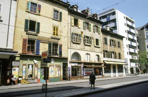 Genève, rue de la Terrassière