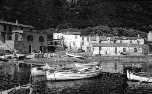 Les pêcheurs à Port Cros
