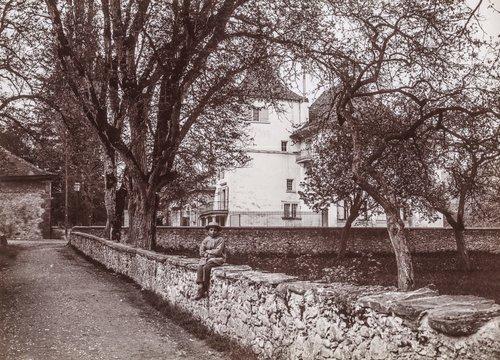 Maison de Forel, où naquit d'Eugène Burnand