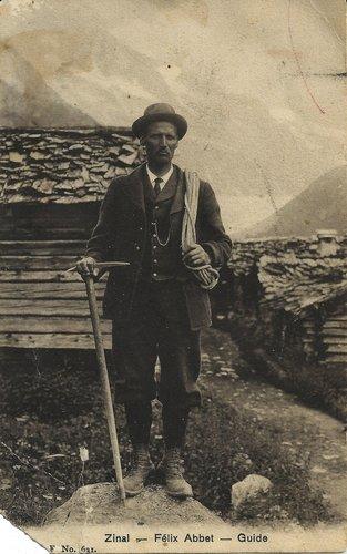 Félix Abbet, guide de montagne