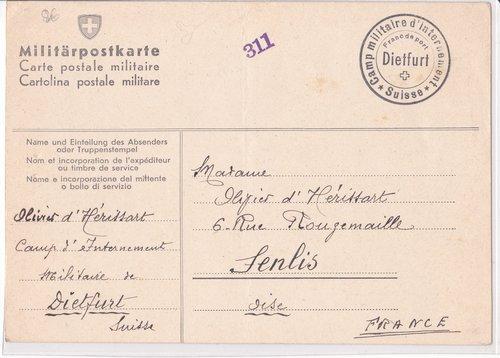 Interné français durant la guerre 39-45