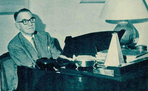 Jacques FÉVRIER, début années 1960