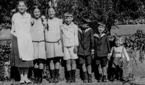 Les enfants de Franz et Mary