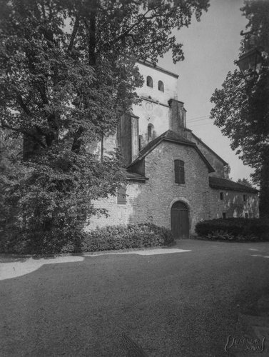 Château de Bonmont et l'Abbaye