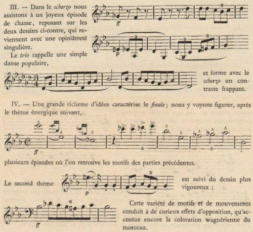 Anton Bruckner, Symphonie No 4, présentation, III-IV