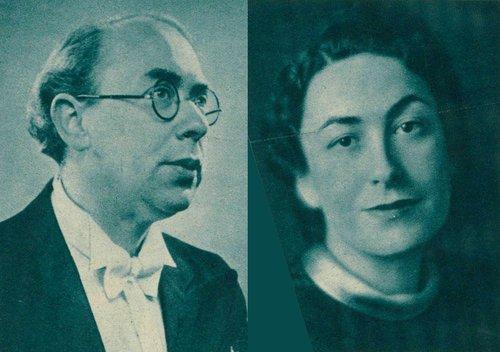 Suzy et Laszlo Krausz (1945)