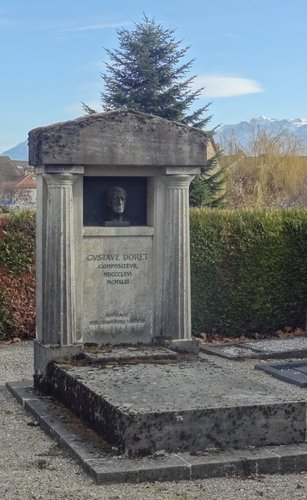 La tombe de Gustave Doret