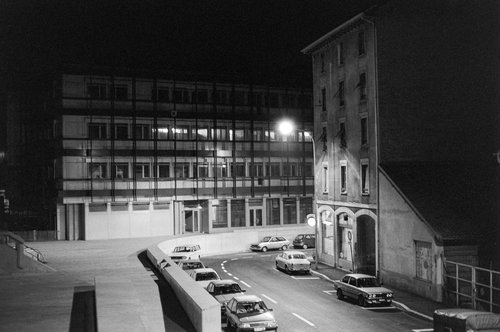 Genève, la Rue des Gares en 1983