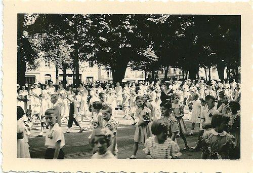 Fête de la jeunesse, Neuchâtel , 1951