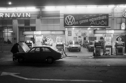 Genève, le Garage Cornavin