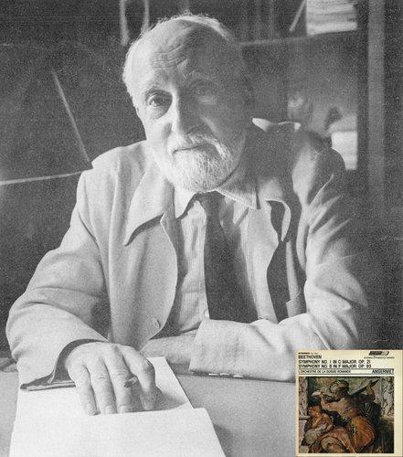 L. van BEETHOVEN, Symphonie No 8, OSR, Ernest ANSERMET, mai 1956, STÉRÉO, DECCA LONDON STS 15032