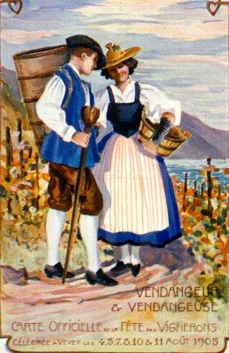 Fête des vignerons, vendangeuses et vendangeurs