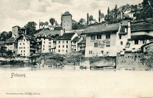 Fribourg, auberge de l'Ange