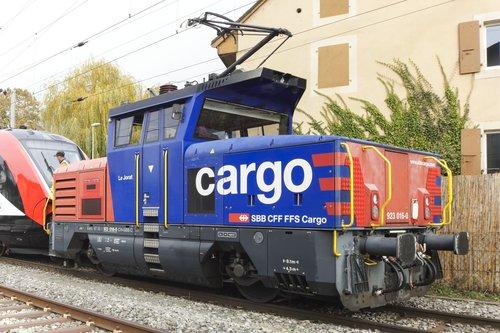 Locomotive Cargo CFF/SBB/FFS Le Jorat