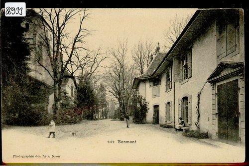 Château de Bonmont  vers 1900