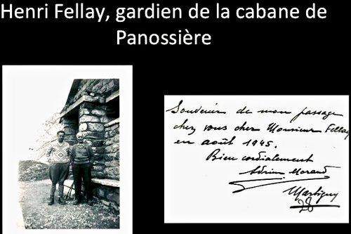 A la cabane Panossière