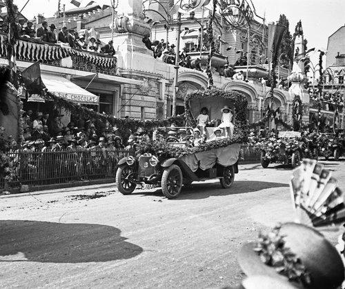 Genève, fêtes des fleurs 1923